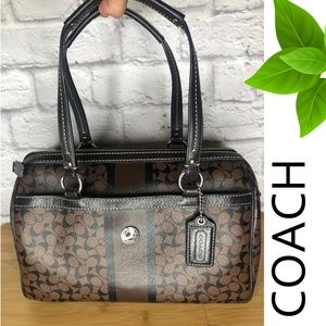 Coach Boston Style Bag Brown